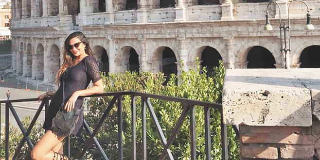 Roma'da dilek tuttu