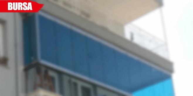 Bursa'da balkondan düşen işçi öldü