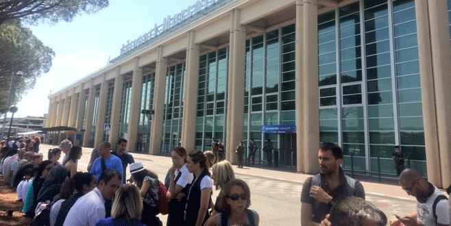 Marsilya'da havalimanında bomba alarmı