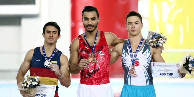 Arıcan'dan 3 madalya
