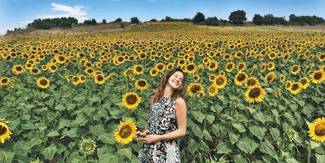Alina'nın doğa sevgisi