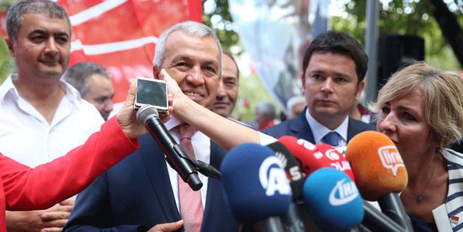 CHP Bursa İl Teşkilatında bayramlaşma töreni