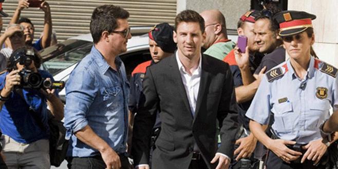 Messi'ye hapis şoku!