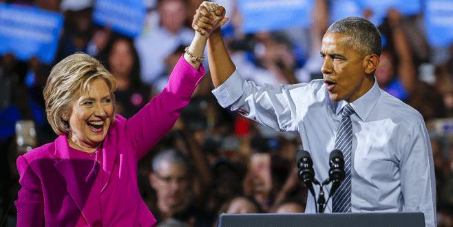 Obama'dan Clinton'a destek