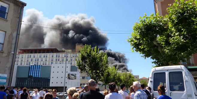 Fransa'da iki hastanede patlama