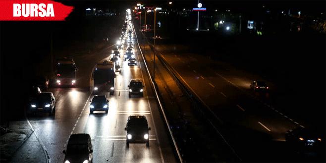 Tatilciler dönüş yolunda: 30 kilometrelik kuyruk oluştu