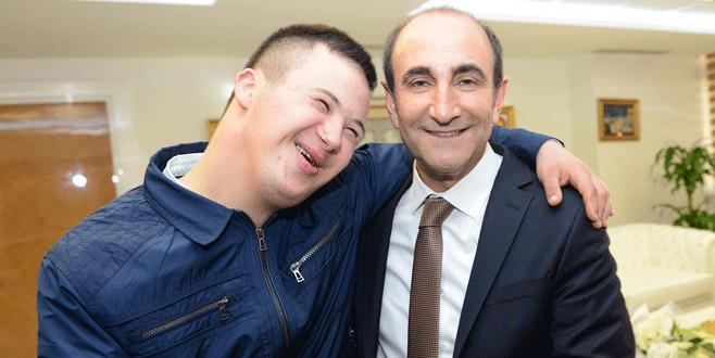 Serkan'ın büyük mutluluğu