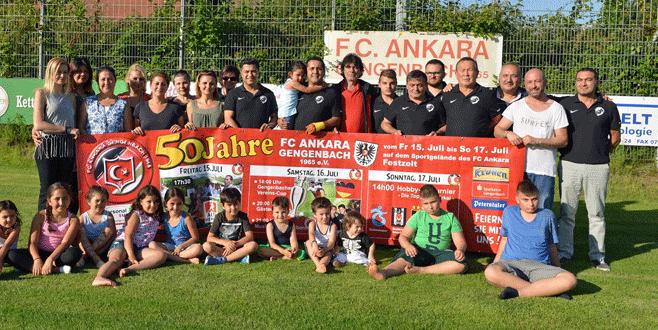 FC. Ankara Gengenbach 50. yılını kutluyor