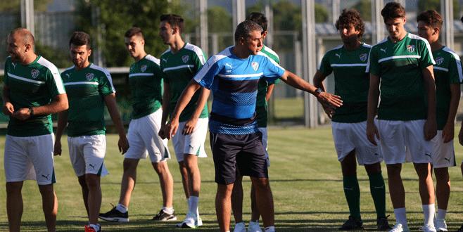Bursaspor'da yeni sezon hazırlıkları başladı