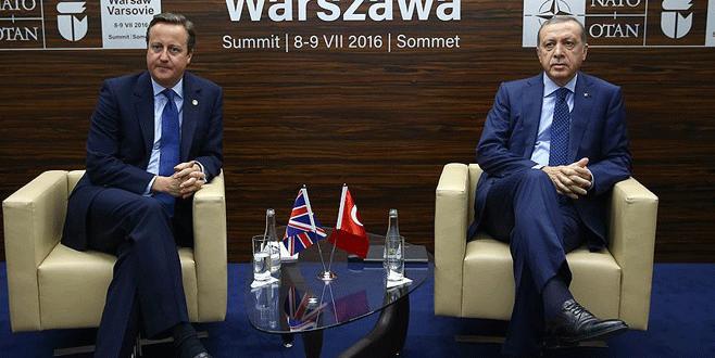 Cumhurbaşkanı Erdoğan ikili görüşmelerde bulundu