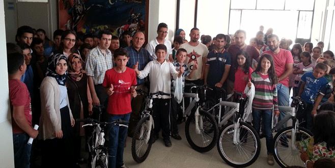 Hareketli hayat için okullara bisiklet