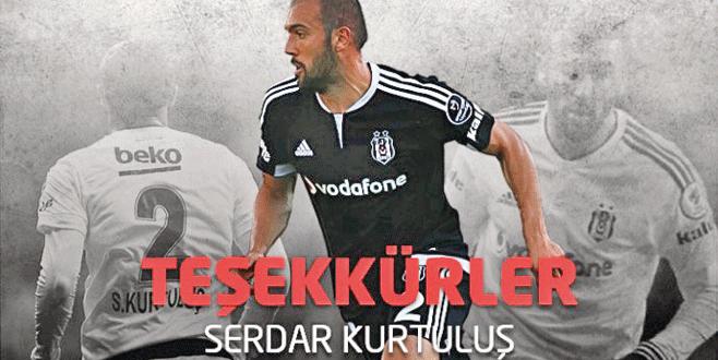 Beşiktaş Serdar'a teşekkür etti