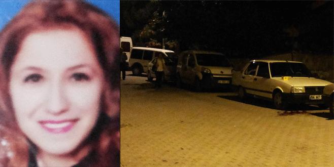 Gemlik'te kadın cinayeti