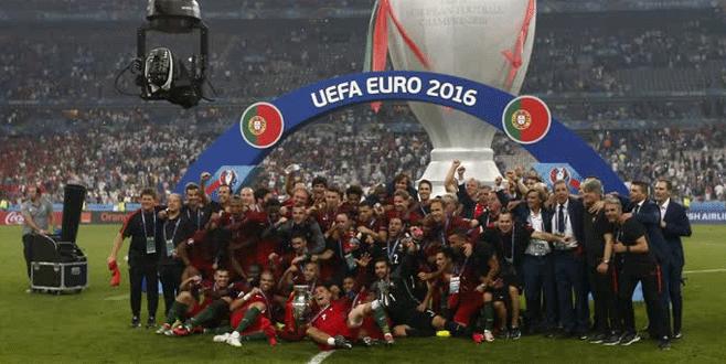 EURO 2016'da şampiyon Portekiz