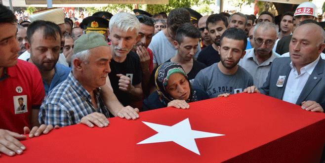 Bursa, şehidini gözyaşlarıyla uğurladı