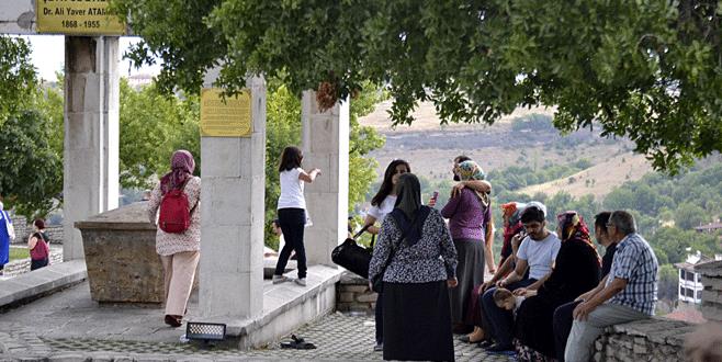 Safranbolu'da bayram yoğunluğu yaşandı