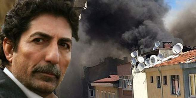 Ünlü oyuncunun evinde yangın çıktı