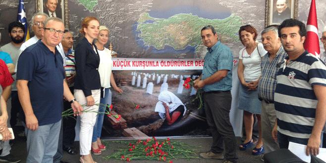 CHP Osmangazi'den Srebrenitsa anması