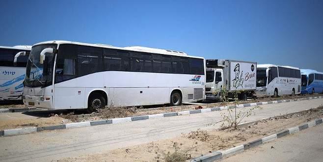 İsrail Beyt Hanun Sınır Kapısı'ndan araç girişine izin verdi