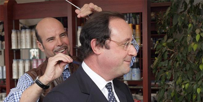 Hollande'a 10 bin Euro'luk saç modeli