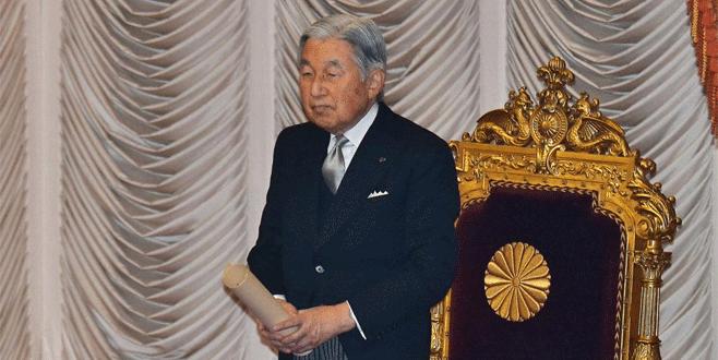 Japon imparator tahtı bırakıyor