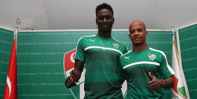 Bursaspor'un yeni transferleri imzayı attı
