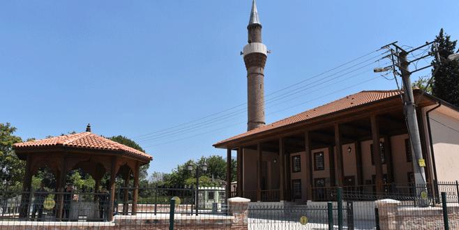 600 yıllık cami hayat buldu