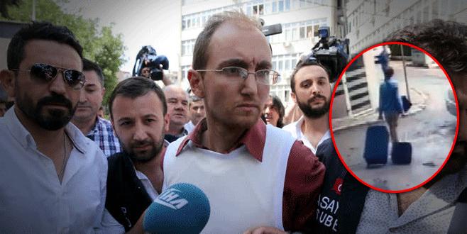 Atalay Filiz'in valizi 2 hafta sonra bulundu
