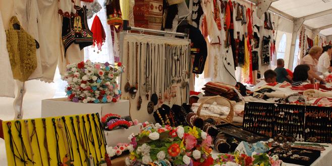Kosova'da el sanatları fuarı