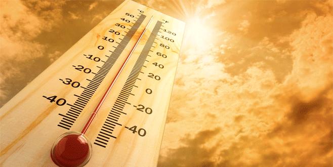 Cumartesi 'kavurucu' sıcaklar geliyor