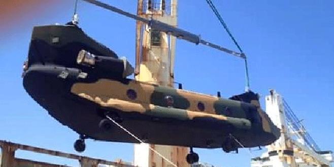 TSK'ya ilk 'uçan kale' helikopteri teslim edildi