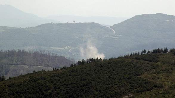 Esad rejimi Türkmendağı'nı bombalıyor
