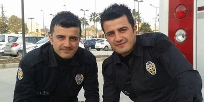 Darbecilerle çatışan ikiz polisler şehit oldu