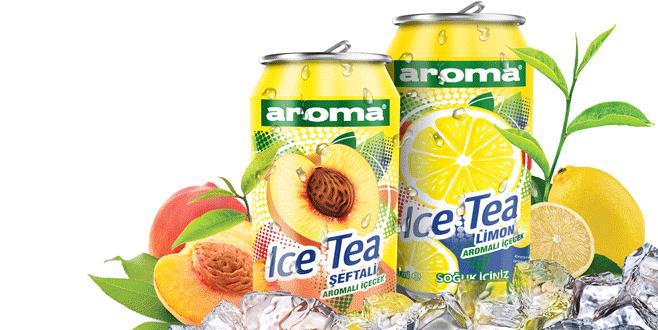 Aroma ürün gamına Ice Tea'yi de ekledi