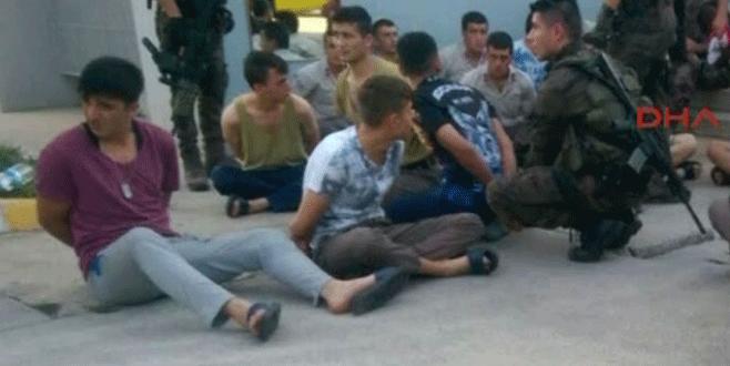 Sabiha Gökçen'de polis ve asker arasında çatışma!