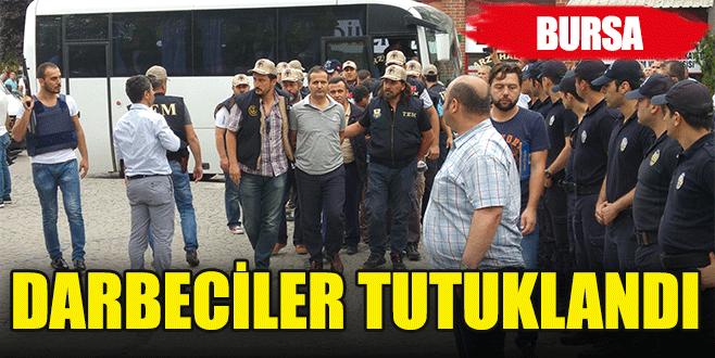 Bursa'da 12 darbeci tutuklandı!