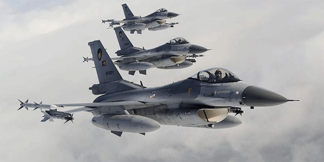 TSK Irak'ın kuzeyindeki PKK hedeflerini vurdu