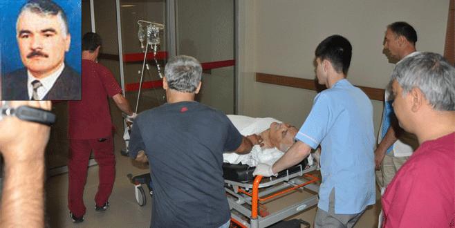 Bursa'da eski belediye başkanına silahlı saldırı