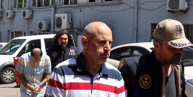 Bursa'da 1 yüzbaşı ile 2 başçavuş tutuklandı