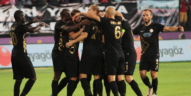 Osmanlıspor şov yaptı: 5-0
