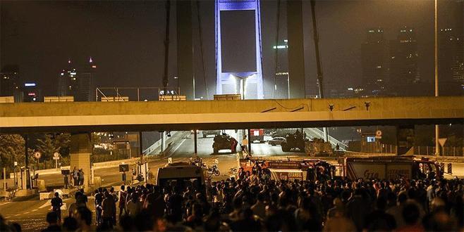 Boğaziçi Köprüsü'nü kapatan albay giysi dolabında yakalandı