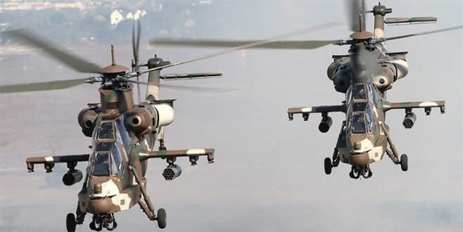 Yenişehir'e 3 ABD helikopteri indi!