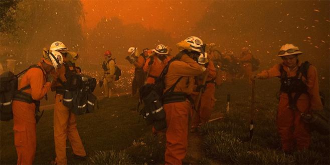 ABD'de yangın dehşeti