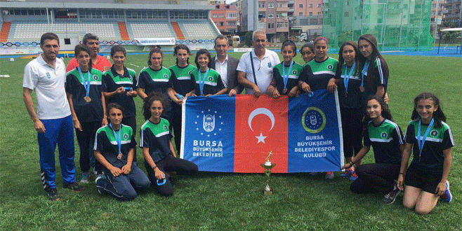Büyükşehir'in yıldızları Türkiye üçüncüsü