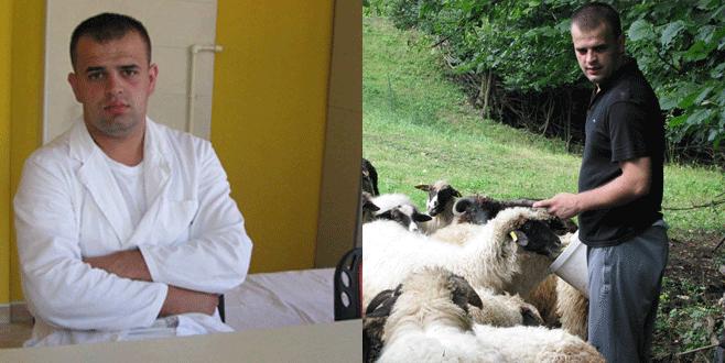 Yarım gün doktor yarım gün çoban