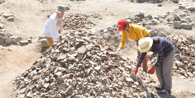 Çini fırınları kazıları başladı