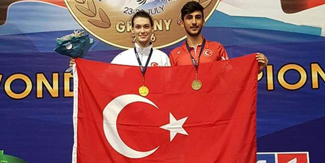 İzmirli tekvandocu Simge Erensayın Avrupa Şampiyonu