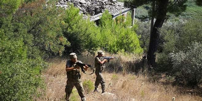 Darbeci askerleri arama çalışmaları Akyaka'da yoğunlaştı