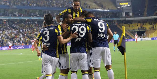 Fenerbahçe 2-1 Monaco