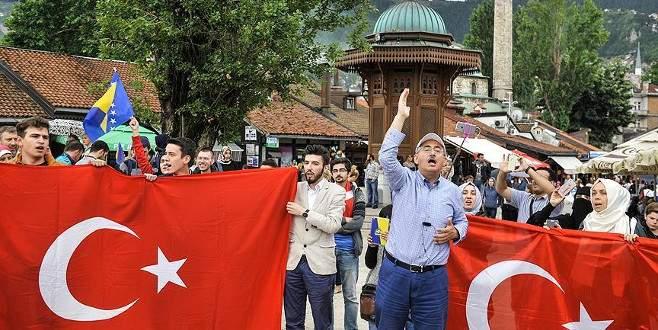 Saraybosna demokrasi nöbetine hazırlanıyor